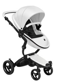 f49e1c5bf87 Mima Xari παιδικό καρότσι 2 σε 1 custom Λευκό με Μαύρο σκελετό και starter  pack