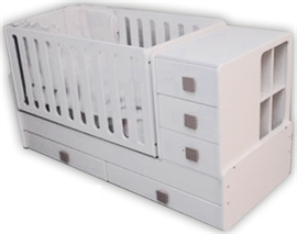 f03b79f3232 First Baby κρεβάτι πολυμορφικό Bella + ΔΩΡΟ ΟΡΘΟΠΕΔΙΚΗ ΣΧΑΡΑ